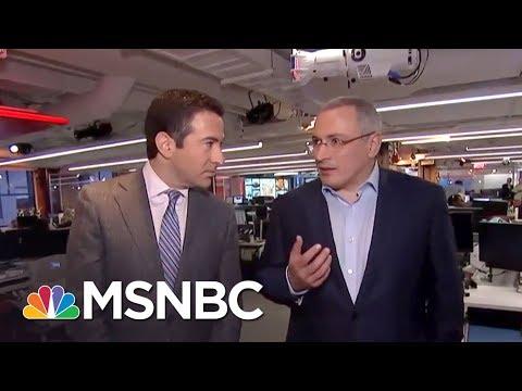 MSNBC: Exiled Putin Rival Ties Kushner Meeting To Kremlin Bankers | The Beat With Ari Melber | MSNBC