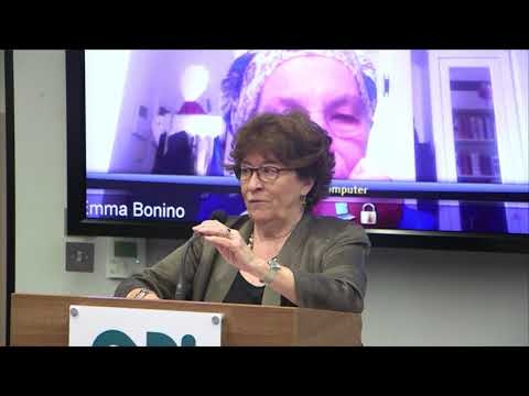 Agreeing a global response to migration - Louise Arbour keynote and panel