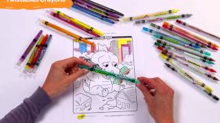 Crayola Twistables Crayons & Colored Pencils - Assorted Product Demo