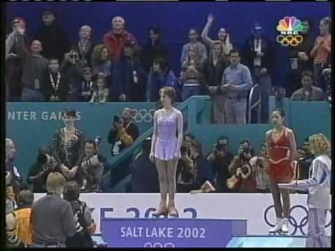 Medal Award Ceremony, Part 2 of 2 - 2002 Salt Lake City, Figure Skating, Ladies' Free Skate