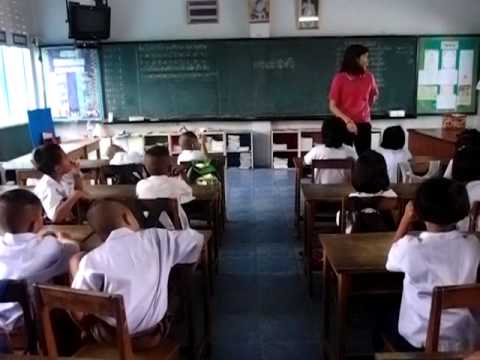 สอนภาษาอังกฤษป 1 เช้าวันแรก