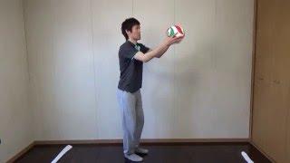 スパイクの助走のタイミングの合わせ方の練習方法