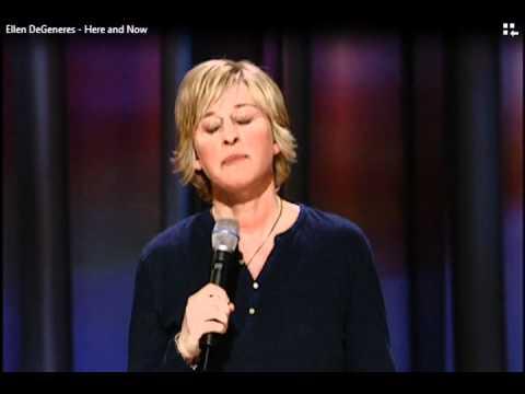 """Ellen DeGeneres """"Cell phones"""""""