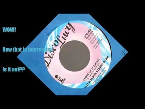 Disco Lucy (I Love Lucy Theme) - Wilton Place Street Band (45)