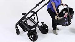 2017 B-Ready & B-Ready G3 Stroller - Lower Infant Car Seat Adapter