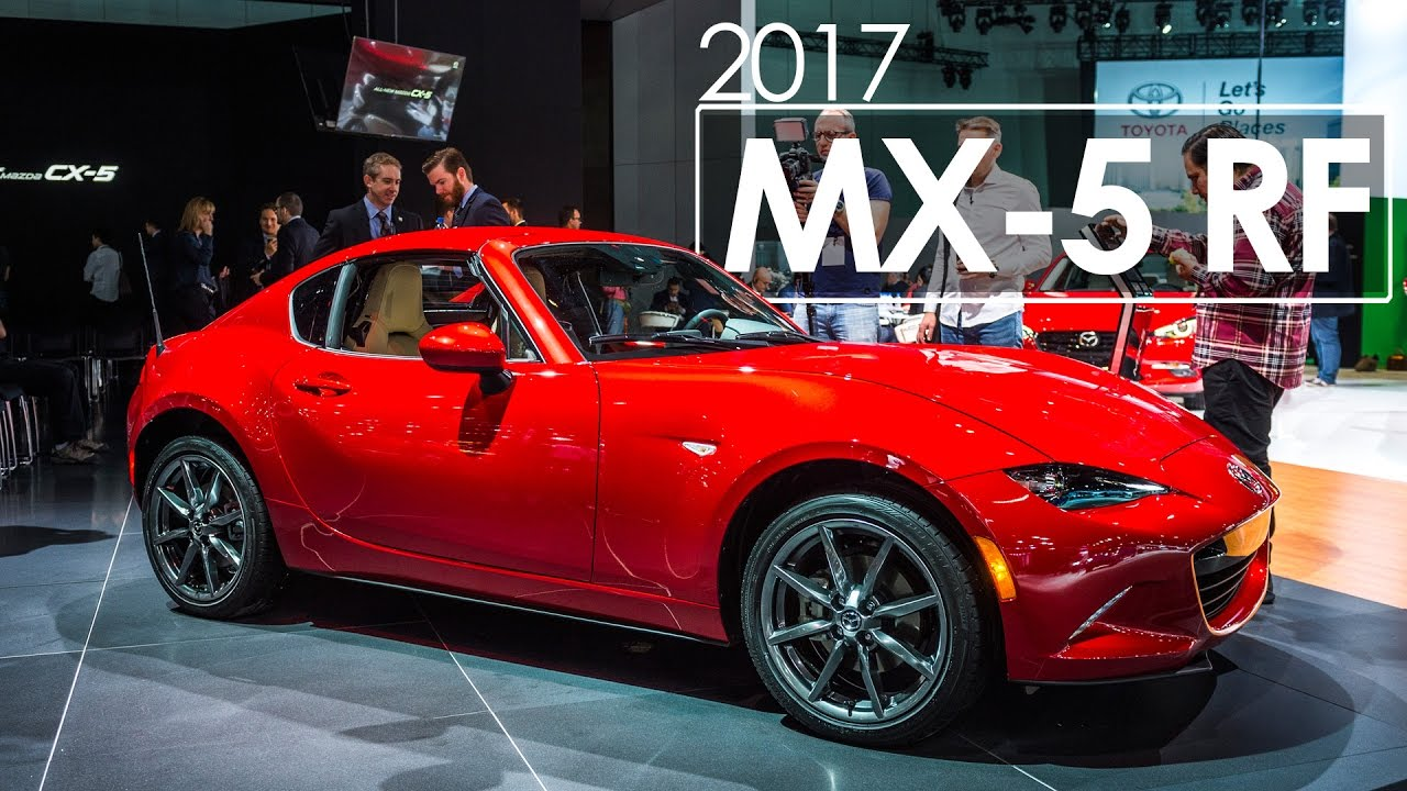 2016 los angeles auto show mazda mx 5 rf first look. Black Bedroom Furniture Sets. Home Design Ideas