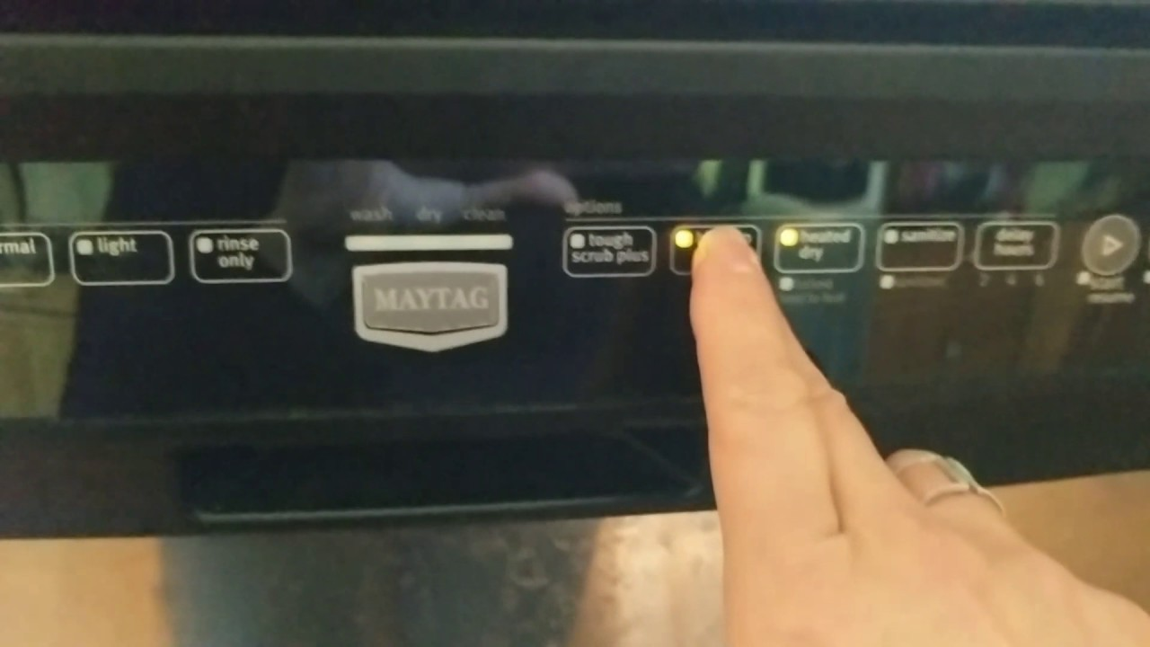 Maytag Dishwasher Not Working Model Mdb6709aws1 Update Now Fixed