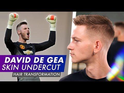 David De Gea Skin Undercut  - Mens Football Hair 2019 Mp3