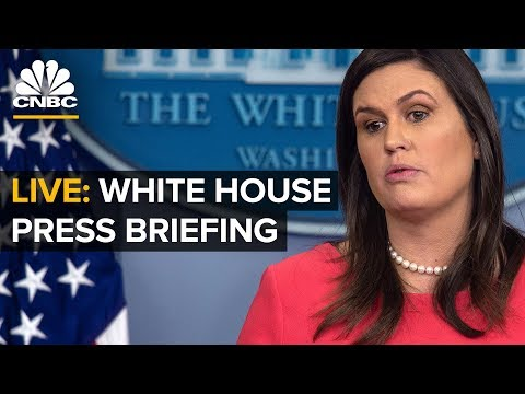 LIVE: White House Press Briefing – Jan. 28, 2019