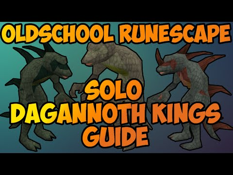 Oldschool Runescape - Solo Dagannoth Kings Guide | 2007 DKS Solo Guide