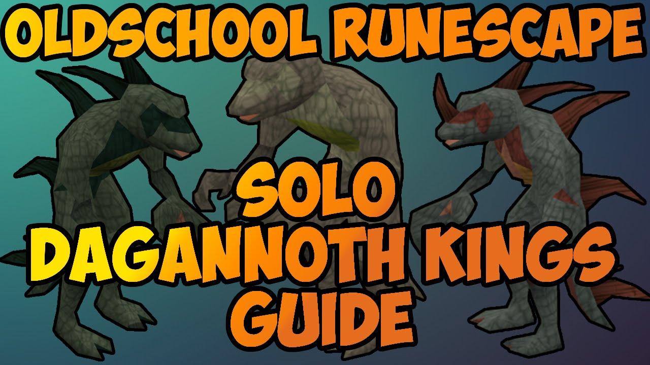 Oldschool Runescape - Solo Dagannoth Kings Guide | 2007 DKS Solo ...