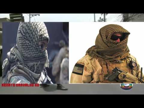 Lenço Palestino usado por PMS em Operacoes no Rio de Janeiro vira polemica