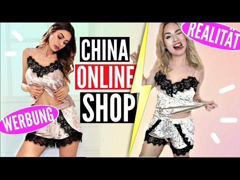 """ZU VIELE JACKEN! WERBUNG vs. REALITÄT: """"China Online Shop"""""""
