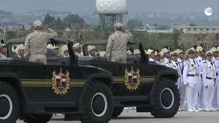 На авиабазе Хмеймим прошел парад в честь Дня Победы