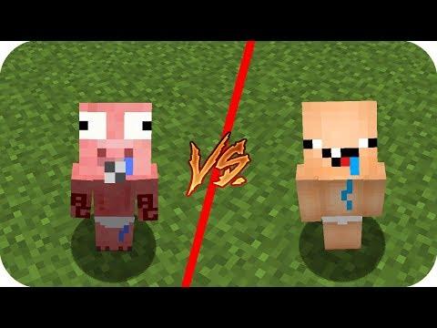 Casa Bebe Aenh vs Casa Bebe Nubi - Minecraft