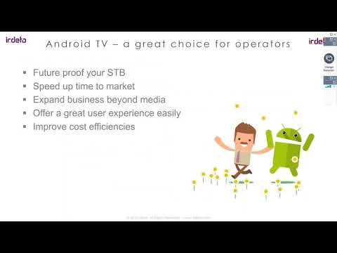 Irdeto Android TV webinar -  3 insights every operator must have