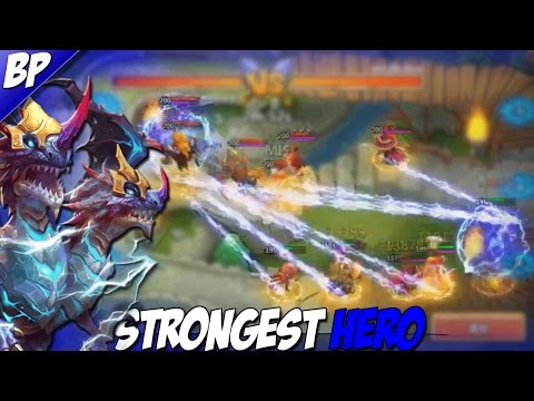 Castle Clash Strongest Hero! (Best Arena Player: Demogorgon Gameplay)