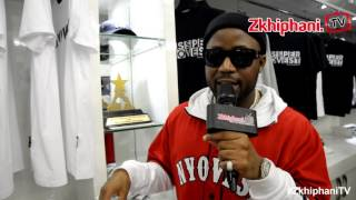 Cassper launches store & sells sneakers for 100 000