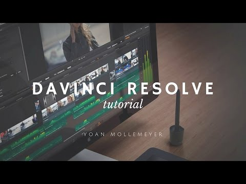 Tutoriel Colorimetrie Davinci Resolve Lite - Import et Media