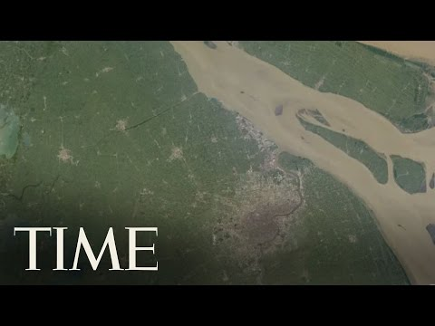 Timelapse of the Earth over the last 30 Years