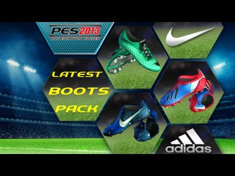 207a0f83f Latest Boot Pack Pes 2013 (NIKE MERCURIAL VAPOR IX CR7 THE GALAXY ...