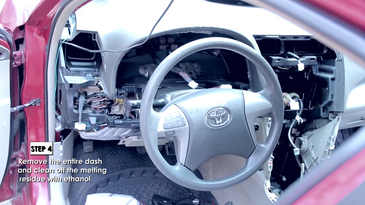 2009 Toyota Camry Dashboard Replacement