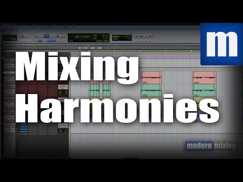 How to Mix Harmonies Around Lead Vocals - ModernMixing.com