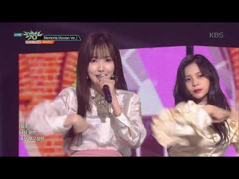 뮤직뱅크 Music Bank - 메모리아(Memoria) - 여자친구(GFRIEND).20190118