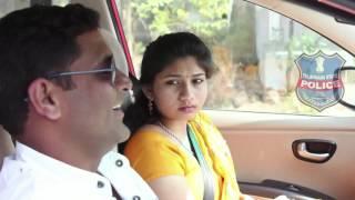 KARIMNAGAR POLICE AWARENESS PROGRAMME(SEAT BELT)