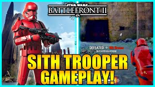 Star Wars Battlefront 2 - Sith Trooper Gameplay | The Rise Of Skywalker Update!