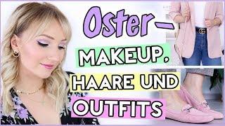 GRWM zu OSTERN! Pastell-Makeup, Frühlings-Frisur & 2 Outfit-Ideen! TheBeauty2go