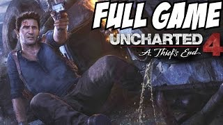 Uncharted 4 Gameplay Walkthrough Part 1 Full Game w/ Ending Campaign Story Let's Play 1080p I Review