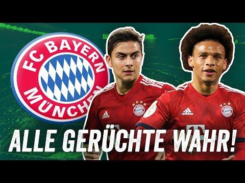 FC Bayern Transfers: Wenn alle Gerüchte wahr wären! Potenzielle Aufstellung 2019/20