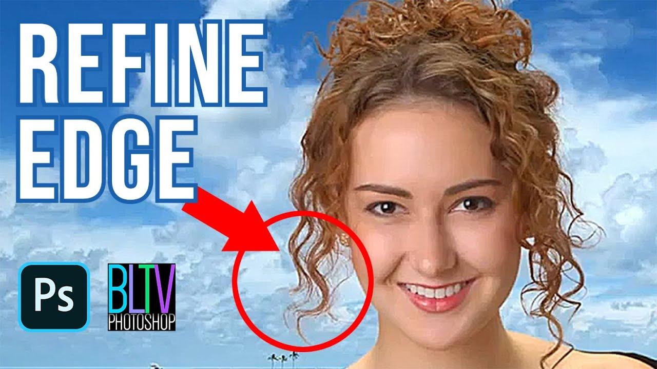 Photoshop Tutorial: REFINE EDGE & QUICK SELECTION