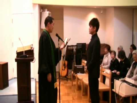 2011.12.25. 片岡正義洗礼式 - Y...