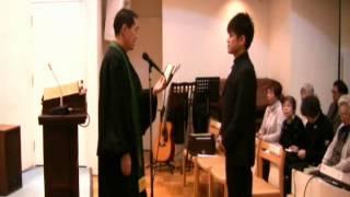 2011.12.25. 片岡正義洗礼式