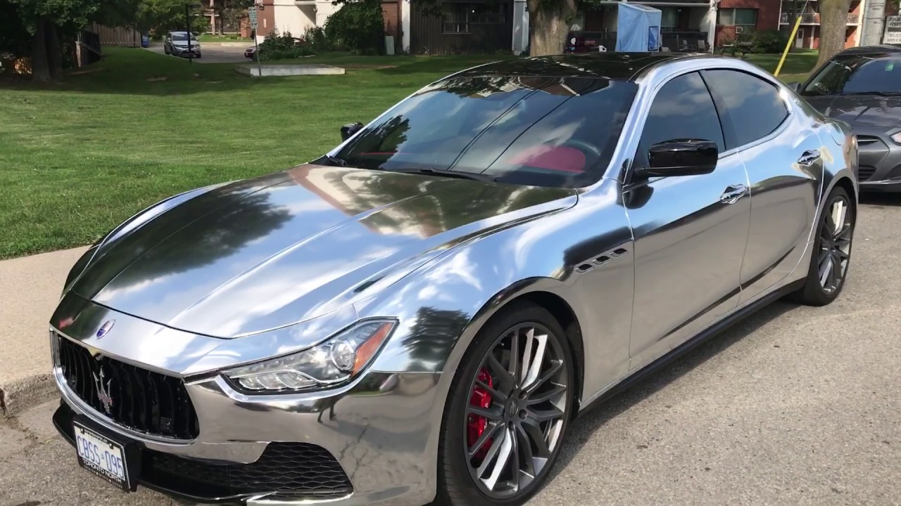 Maserati ghibli colors