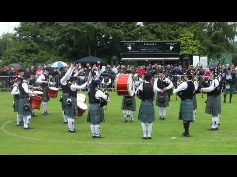 2017 Scottish Pipe Band Championships Boghall & Bathgate Juvenile