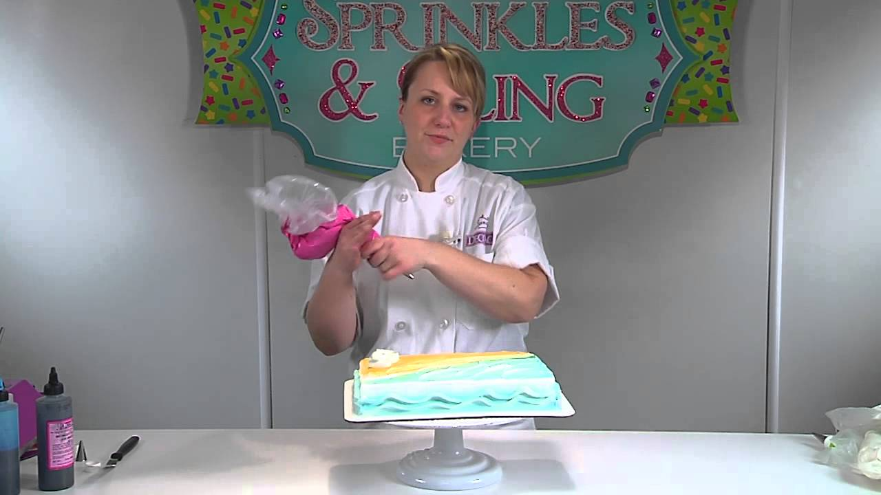 Little Mermaid Ariel Scuttle Cake Design from DecoPac YouTube