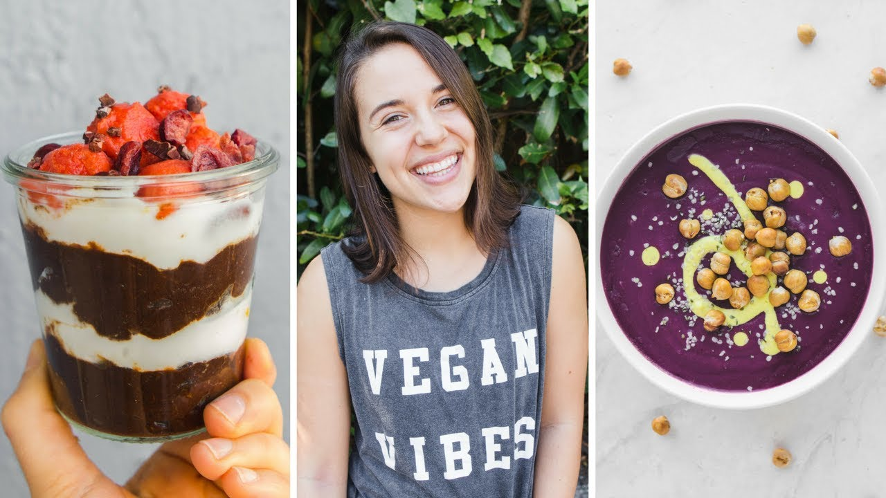 What I Eat in a Busy Work Day as a Vegan Food Blogger