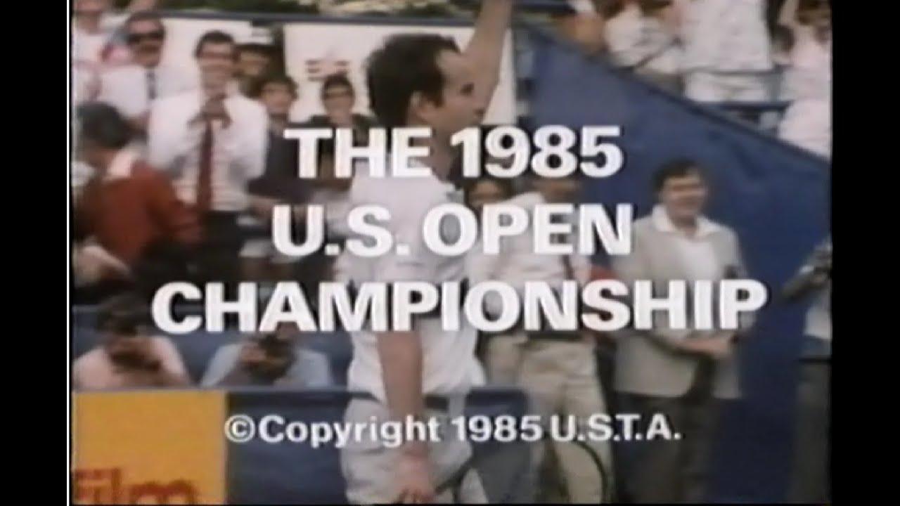 1985 US Open Ivan Lendl John McEnroe Hana Mandlikova Martina