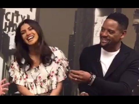 Priyanka Chopra, Blair Underwood Live Interview | GMA Backstage