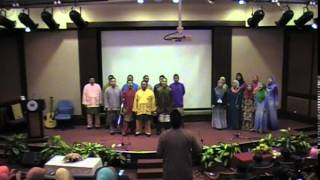Koir Lembaga Getah Malaysia Setangkai Mawar PKP BGA 2014