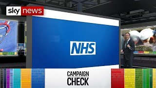 General Election Campaign Check: Tory NHS spending claims