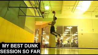 Dunk session in the new LeBron XVI lows - Mustang Meditation Ep. 33