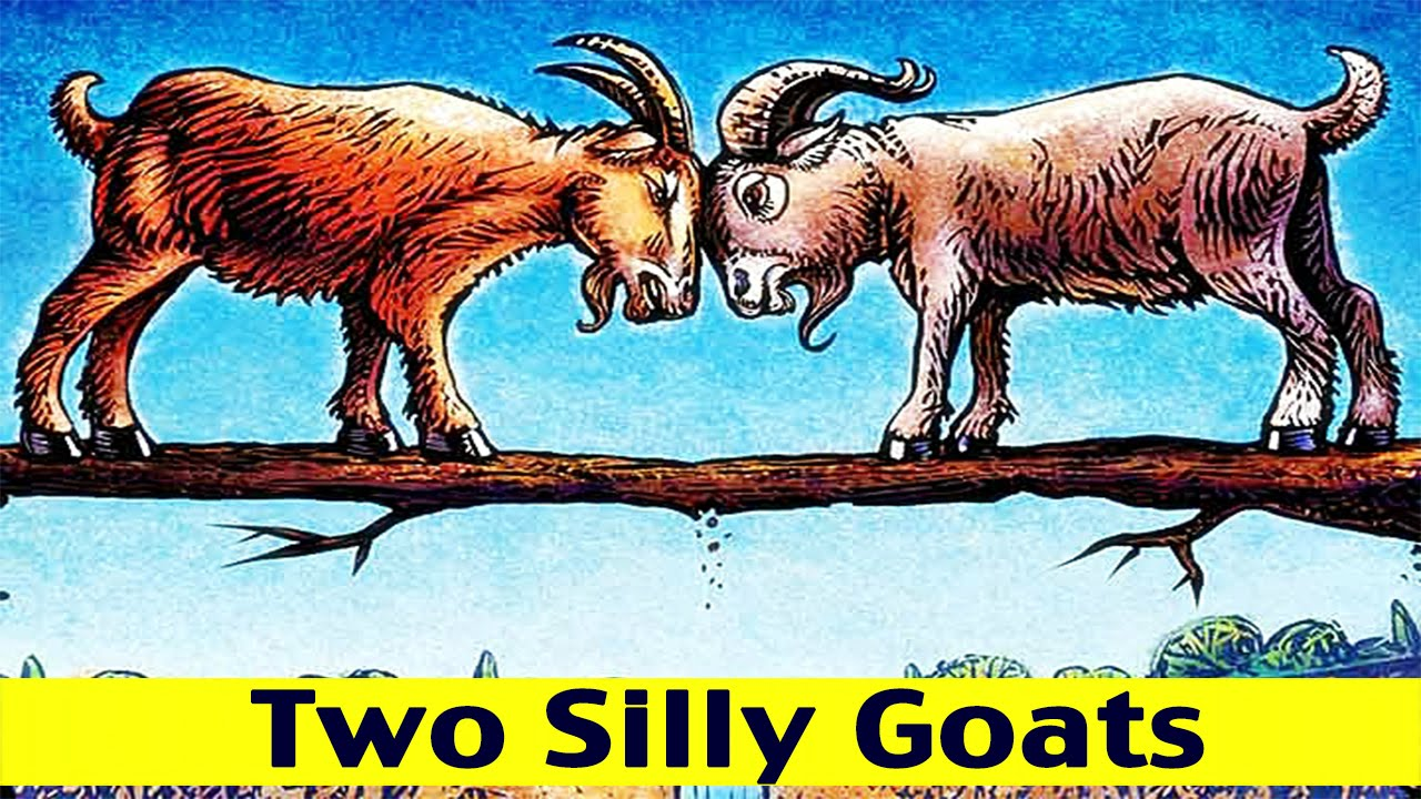 Two Silly Goats | Moral Story for Kids | *Children Charlie* baby