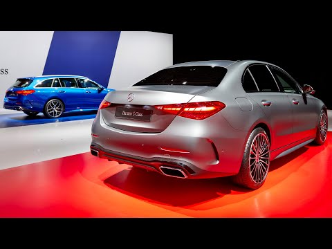 New Mercedes C-CLASS 2022 – sedan VS estate (which one is better?) AMG Line