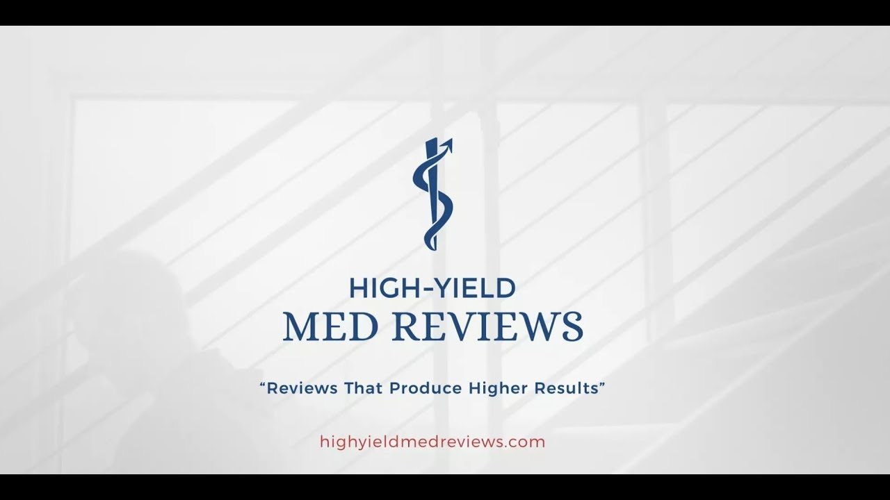 High-Yield Med Reviews: Review Courses, Q-Banks, Practice
