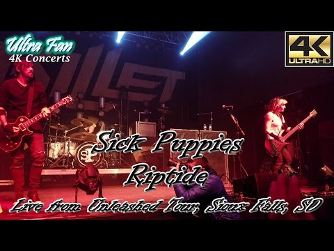 Sick Puppies - Riptide Live from the Unleashed Tour Sioux Falls, SD