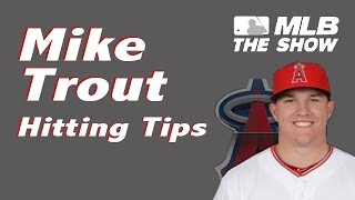 MLB 15 The Show - MIKE TROUT hitting tips